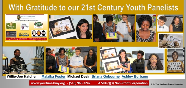 Your Time For Creative Empowerment Self Empowering Workshop 2017 Thank You 21st Century - Youth Panelists